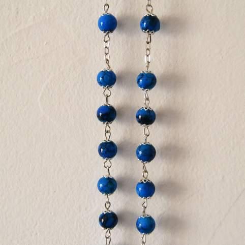 Rosario azul