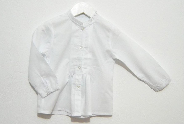 Blusa para traje baturra con tela bordada - Baturricos