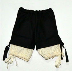 Calzón de paño para traje tradicional o traje baturro - Baturricos