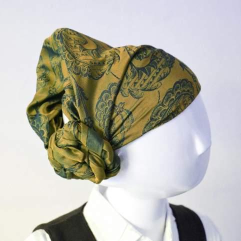 Pañuelo cabeza remolinos. Varios modelos