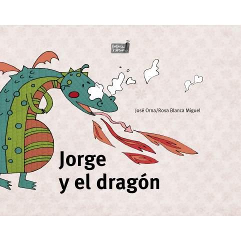 """Portada """"Jorge y el dragón"""""""