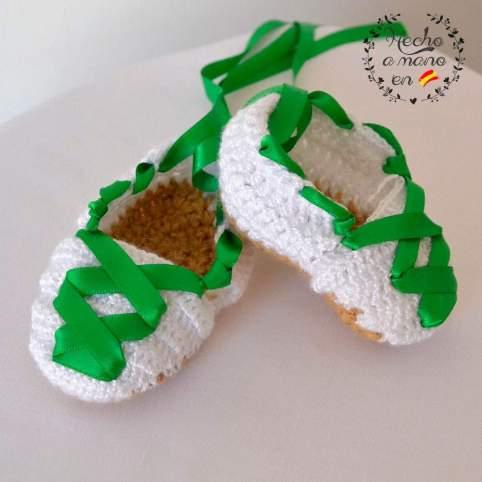 Alpargatas tradicionales san lorenzo bebé