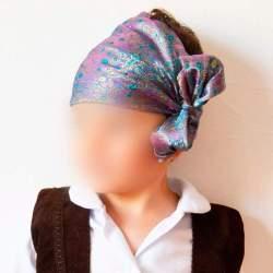 Pañuelo cabeza cachemir para traje baturro o regional