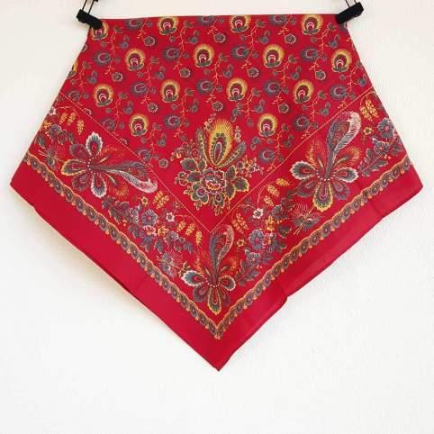 Pañuelo Rojo Estampado Indiana 2