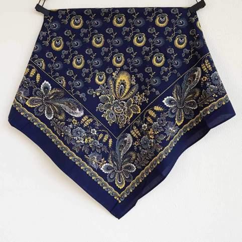 Pañuelo Azul Estampado Indiana 2