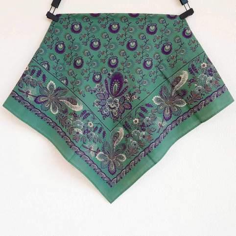 Pañuelo Verde/Azul Estampado Indiana 2