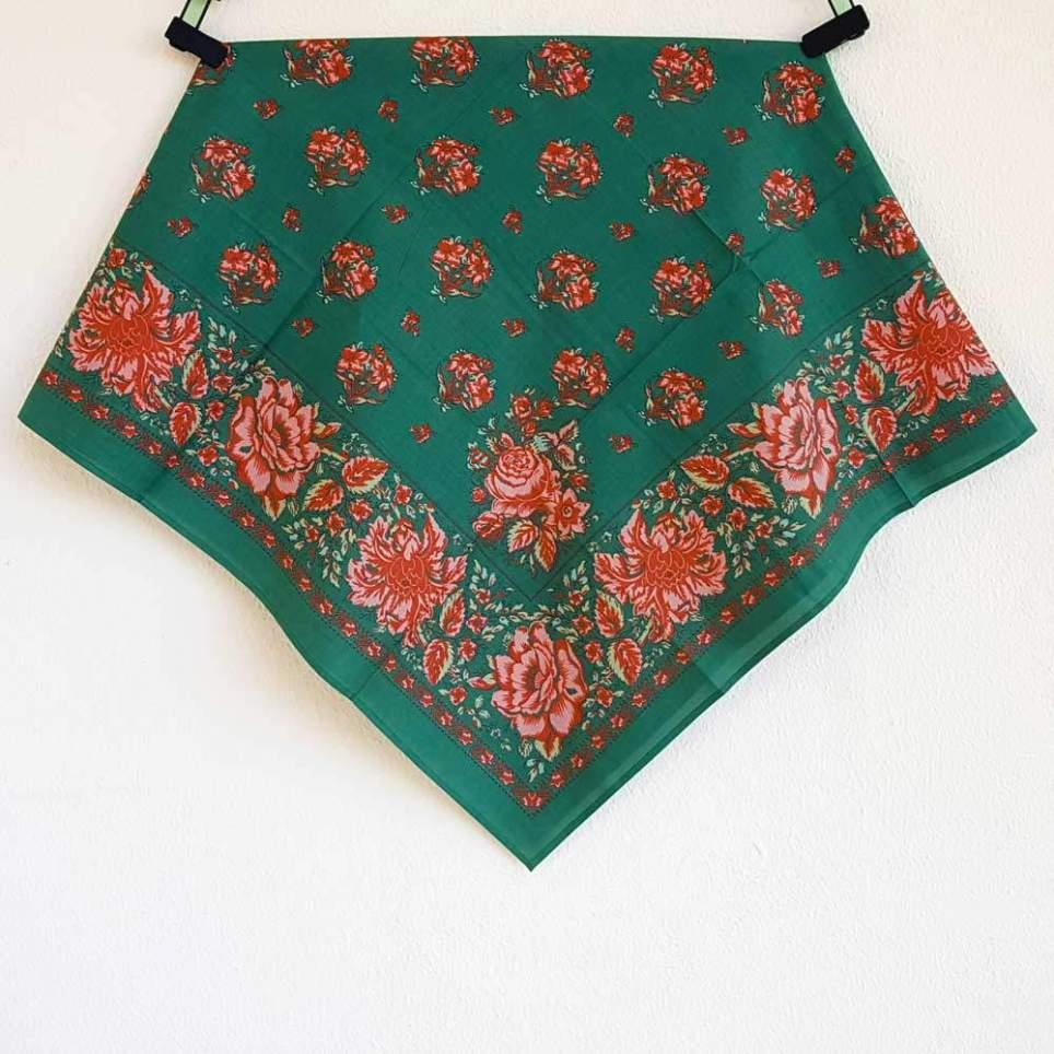 Pañuelo Verde Estampado Indiana 5
