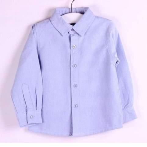 Camisa Azul para Traje Regional o Baturro