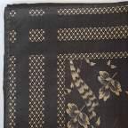 Pañuelo Cabeza Ramas Negro para Traje Baturro o Valenciano