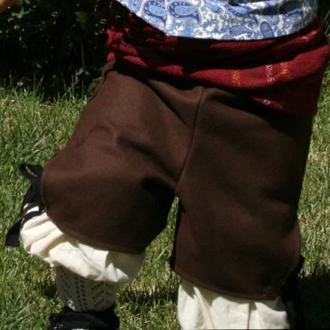 Ejemplo calzón marrón
