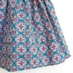 Saya Percal Floral Rosa. 0 - 4 años