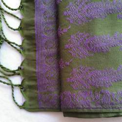 Faja para traje baturro de Gala Cachemir Verde