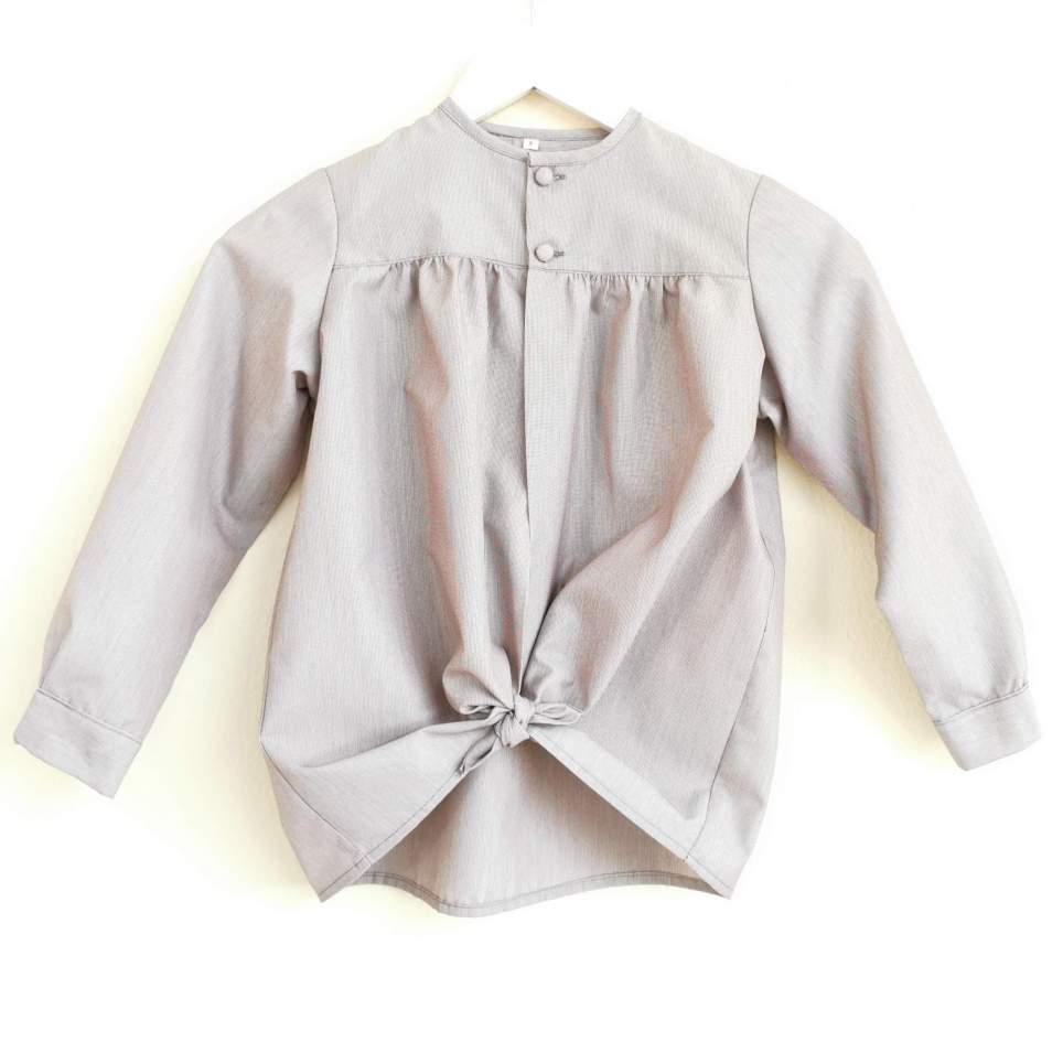 Tocinera o blusón negro para traje baturro bebé o niño