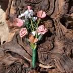 Ramillete rosa palo