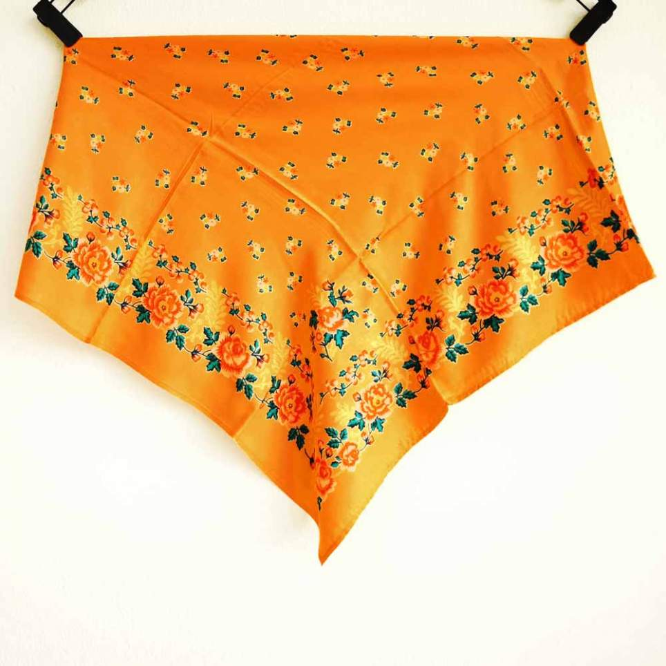 Pañuelo Naranja Portugués 2 para traje baturra