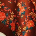 Pañuelo Marrón Portugués 2 para traje baturra
