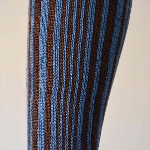Calcetín tradicional raya vertical