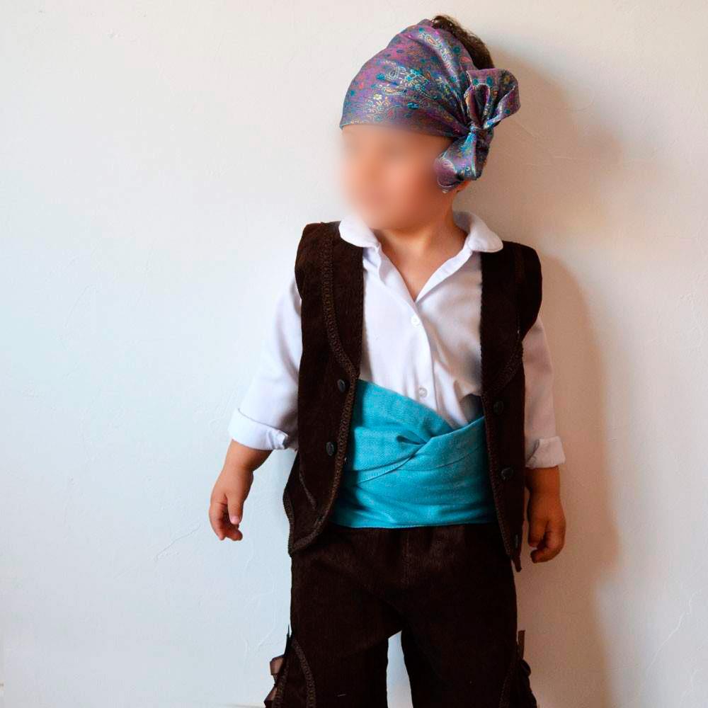 Traje tradicional o traje baturro de pana - Baturricos